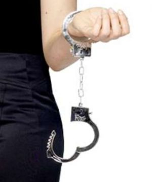 Police Fancy Dress Plastic Hand Cuffs